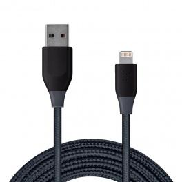 Tronsmart LTA13 USB - Lightning (1.2 metri, alb-gri)