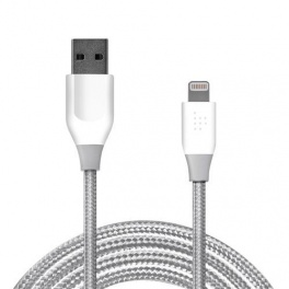 Tronsmart LEP03 USB - Lightning (1.8 metri, alb-gri)