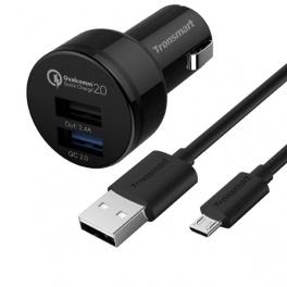 Sursa Alimentare Auto Tronsmart TS-CC2PC Quick Charge 2.0 Dual USB