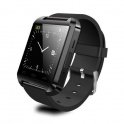 UWatch U8 Negru Smartwatch Bluetooth Compatibil Smartphone Android sau iOS