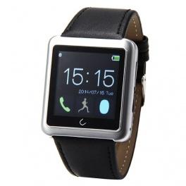 UWatch U10L Argintiu Smartwatch Bluetooth Compatibil Smartphone Android sau iOS