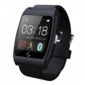 UWatch UX Negru Smartwatch Bluetooth Compatibil Smartphone Android sau iOS