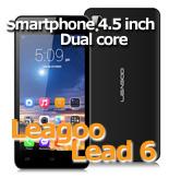 Leagoo Lead 6 Negru Smartphone Dual Sim 4.5 Inch Dual Core GPS