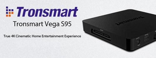Android Mini PC Box Tronsmart Vega S95 Telos Ultra HD 4K
