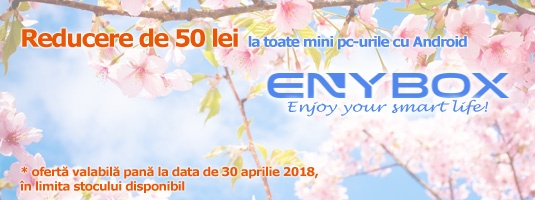 Enybox - Oferta lansare